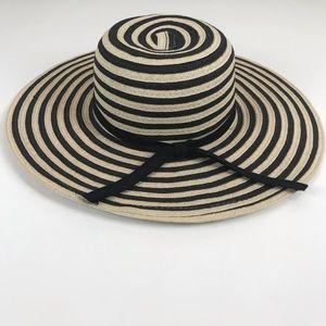 Lake Shore Drive Floppy Boho Straw Wide Brim Hat